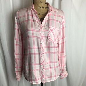 Rails Hunter Button Down In Love Shirt